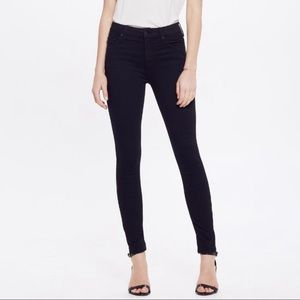 MOTHER High Waisted Looker Jean Not Guilty Wash
